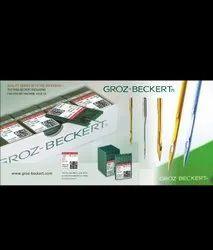Stainless Steal Groz beckert Grozbeckert Sewing Machine Needle, Packaging Type: 500 Pcs Per Box