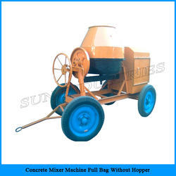Concrete Mixer Machine Full Bag without Hopper