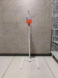 Manual foot operated dispenser