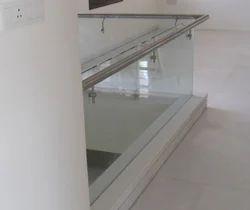 Stainless Steel Glass Balcony