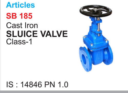 Mittal Cast Iron Sluice Valve, Size: 80mm