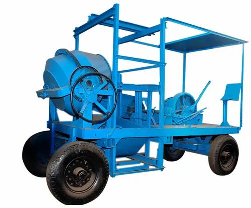Four Leg Concrete Lift Mixer Machine