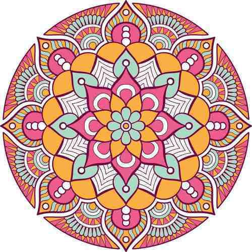 Printed Rangoli Floor Sticker At Rs 369 Piece Rangoli Designs