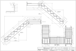 Stair Working Drawing