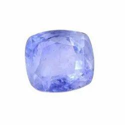 Sri Lanka Natural 5.86 Cts Cushion Mixed Certified Blue Sapphire