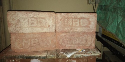 M.B.C Rectangle Red Brick, Size: 9*4*3