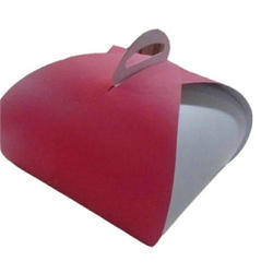 Handle Paper Cake Box