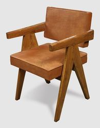 Wooden Contemporary Sheesham Wood Upholestry Leather Cafe Home Restaurant Chair, Warranty: 1 Year, Size: 18
