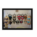 Lingerie Rack on Slatwall Board