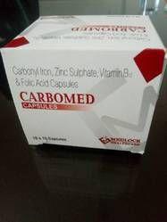 Carbonyl Iron , Zinc Sulphate , Vitamin B12 Folic Acid Capsule