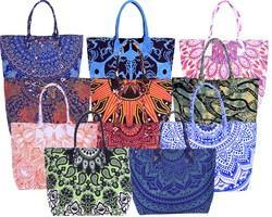Cotton Printed Mandala Tote Bag