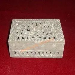 Beautiful Soapstone Box