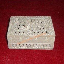 Soapstone Carving Boxes