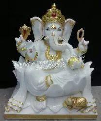 Vietnam Marble Ganesh Statue