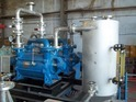 Double Stage Water Ring Vacuum Pump With Closed Loop Seal Water Recirculation System