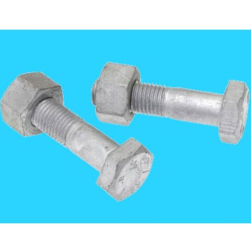 1//4-20 UNC Qty-250 Hex Finish Nuts Hot Dipped Galvanized