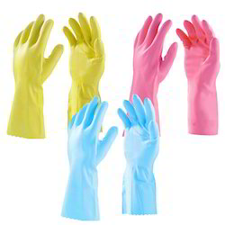 Latex House Hold Hand Gloves