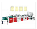 Fully Automatic Plastic Hand Bag Making Machine (Four Fun