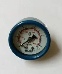 Pressure gauges for positioners