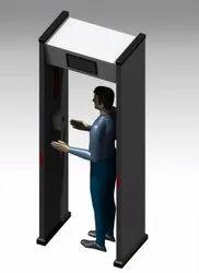 Body Temperature Detector Door