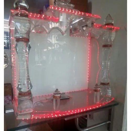 Transparent Glass Temple