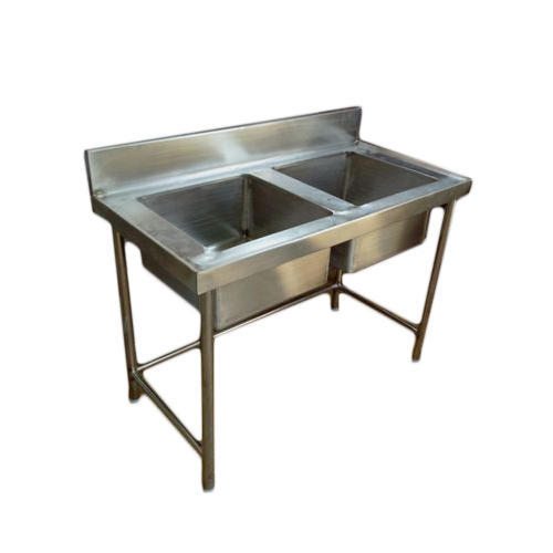 Stainless Steel Double Bowl Sink, Rs 15000 /piece, Mohan & Mohan ...