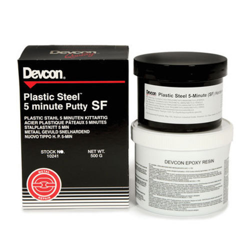 Devcon Plastic Steel 5 Minute Putty SF, Packaging Type: Plastic Container