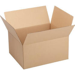 Brown Shipping Corrugated Box