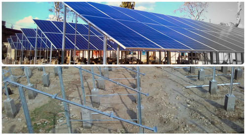 Solar Ground Mounted Structure Solar Ground Mounting