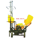 Tilting Drum Mixer Tow Pole Lift Mixer With Hydraulic Hopper