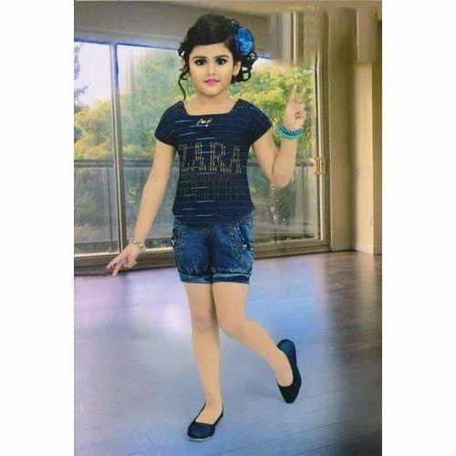 8619e9abe S And M Stylish Kids Denim Shorts