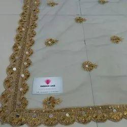 Designer Mirror Net Dupatta