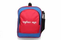 Red Blue School Bag