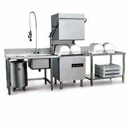 Industrial Dishwasher Audyogik Bartan Dhone Ki Machine