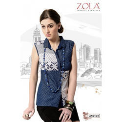 Zola Sleeveless Shorts Tops, Size: M and L