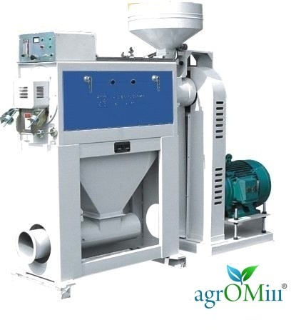 Agromill Silky Rice Polisher(Complete Set), Capacity: 2 to 4 TPH