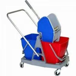 Wringer Trolley Double Bucket 40 ltr