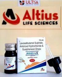 Ambroxal - 7.5mg Levosalbutamol -0.25mg Guaiphenesin - 12.5 mg