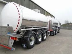 Insulated Road Milk Tanker