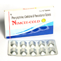 Phenylephrine Cetrizine And Paracetamol Tablets