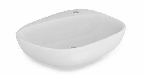 Single Faucet Hole Bathroom Sink