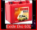 Eco 60l Exide Battery, Warranty: 36 Month