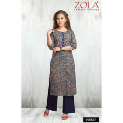 Casual Wear Printed Cottons Kurti