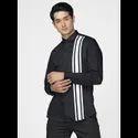 Green Hill Men's Designer Black Three Stripes Shirt