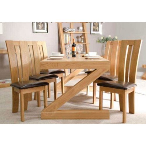 Brown Modern Wood Dining Furniture Rs 15000 Set Shree Ram Coating Chemicals Id 20681596030