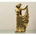 Golden Decorative Sculpture, Size/dimension: 20 Mm