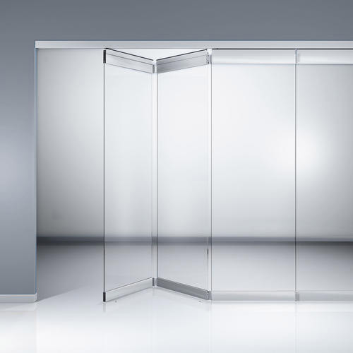 Home Folding Glass Partition