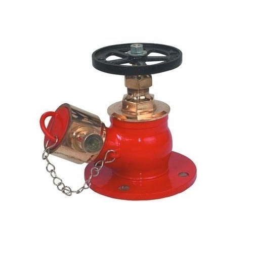 Stainless Steel Red Fire Hydrant