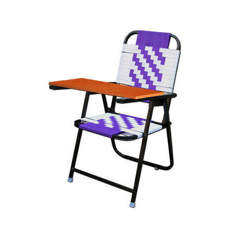 Black Folding Writing Chair With Full Pad Rs 1200 Piece