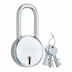 With Key Long Spider Pad Locks, Chrome